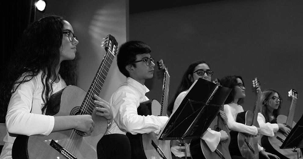 Orquestras de Guitarras, Coro e Orquestra Sinfónica do Liceu